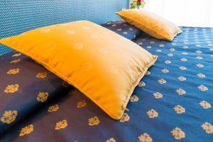 Dettaglio cuscini Hotel Principe a Bibione