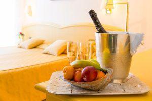 Dettaglio del servizio in camera di Hotel Principe Bibione