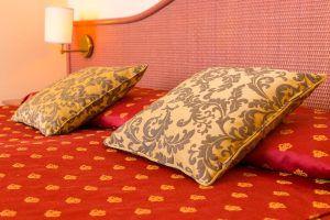 Un dettaglio delle camere di Hotel Principe di Bibione